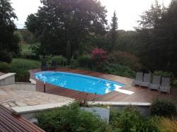 Plages d'une piscine